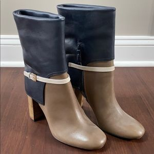 Brand New Never Worn Tory Burch Heeled Boots